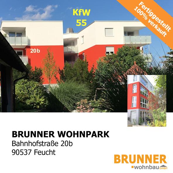 Brunner Wohnpark, Bahnhofstraße 20b, 90537 Feucht