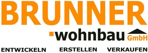 logo brunner wohnbau gmbh entwickeln erstellen verkaufen
